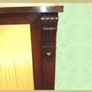Close Up 1-4 19th c. rosewood side-cabinet