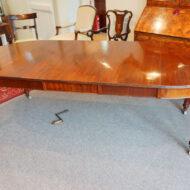 Edwardian mahogany circular dining table