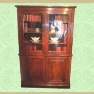 George_IV_mahogany_bookcase