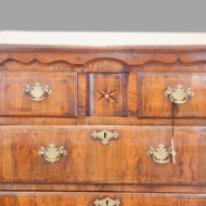 Antique walnut Norfolk chest