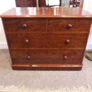 Victorian mahogany quality dressing chest