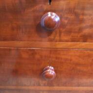 Victorian mahogany quality dressing chest,1