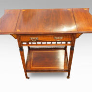 Edwardian inlaid rosewood drop-flap table