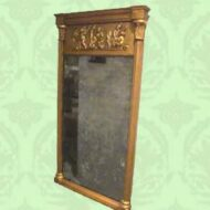Regency,Gilt,pier,mirror,