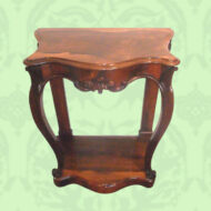 Victorian rosewood console table