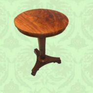 Victorian,circular,wine,table,