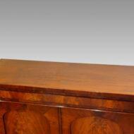 William IV mahogany chiffonier sideboard top