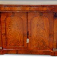 William IV mahogany chiffonier sideboard,