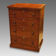Early 19thc. mahogany small chest of drawers
