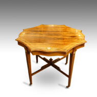 Victorian inlaid rosewood centre table