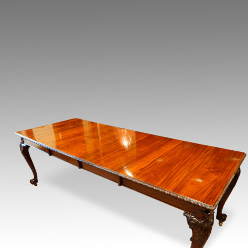 Antique dining table top
