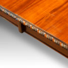 Edge carving dining table