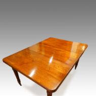 Edwardian walnut dining table,1