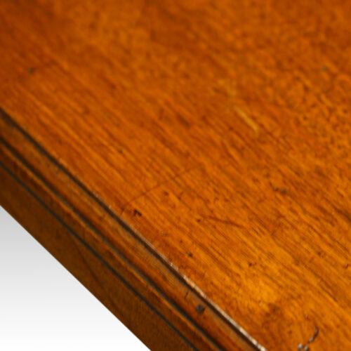 Edwardian walnut dining table,8