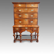 Queen Anne chest on stand
