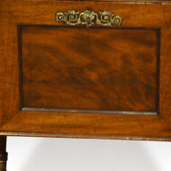 Regency mahogany cellarette,2