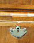 Antique walnut keyhole