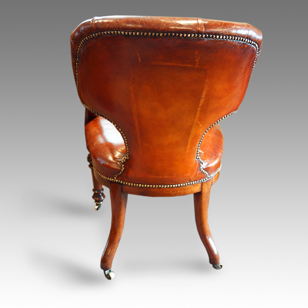 victorian office chair. Superb Victorian Mahogany And Leather Desk Chair Now Sold - Hingstons Antiques Dealers Office