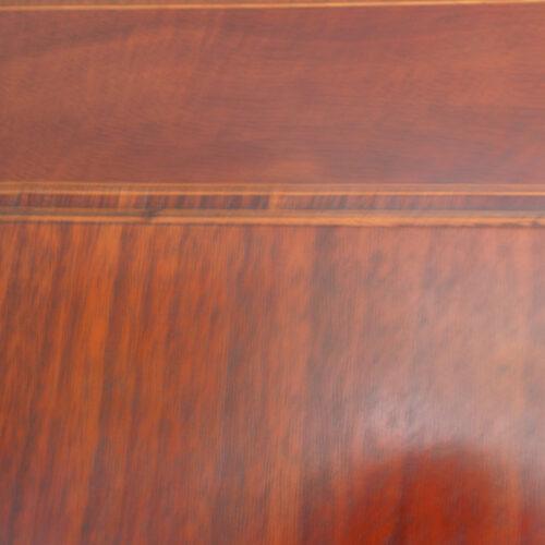 Antique desk cross-banding
