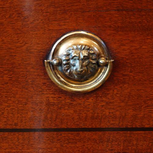 Antique desk handle