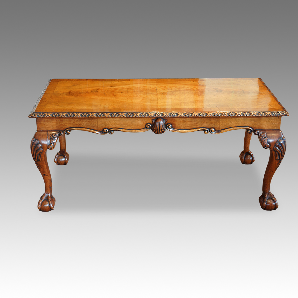 Queen Anne Coffee Table Walnut Coffee Table In The Queen Anne Style Now Sold
