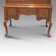 George II oak chest on stand base