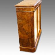 Antique cabinet side