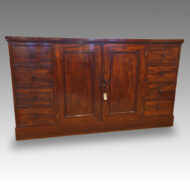 19thc. mahogany housekeepers cupboard