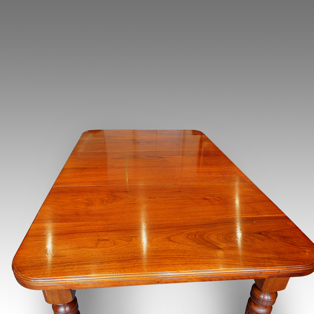 edwardian walnut 8 seat dining table now sold hingstons