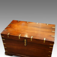 Antique military chest