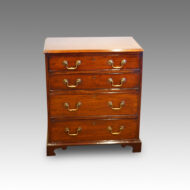 Edwardian small mahogany chest