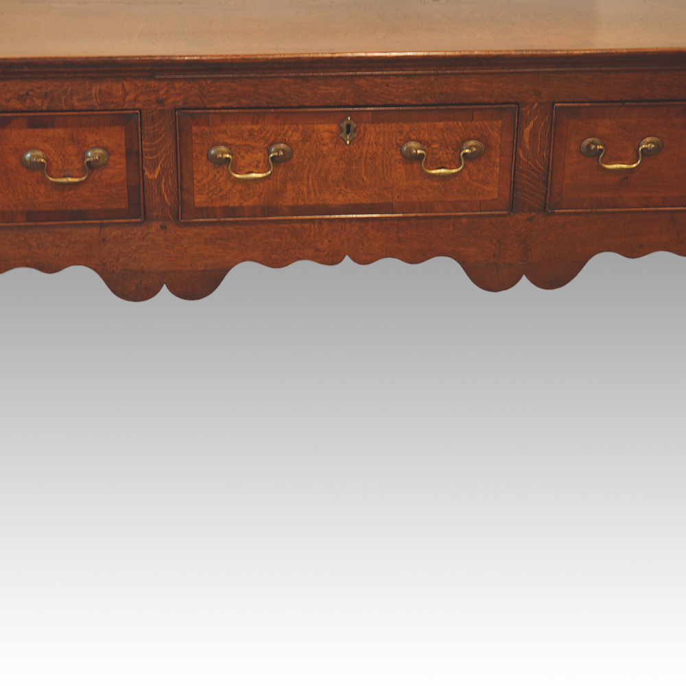 George III oak dresser base Now Sold - Hingstons Antiques Dealers