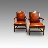 Pair of Gainsborough library chairs