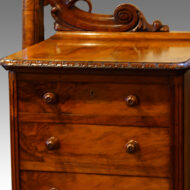 Victorian walnut dressing table
