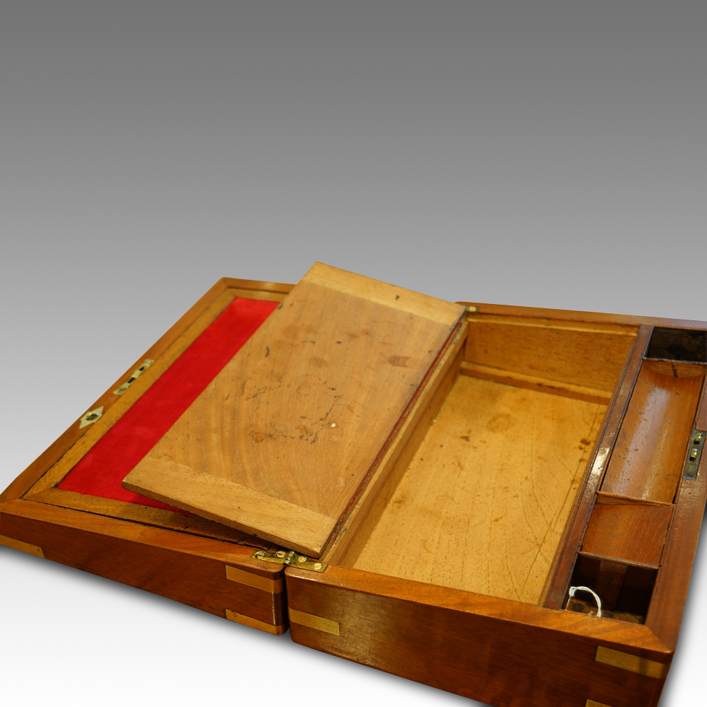 Victorian Mahogany Writing Slope Now Sold Hingstons