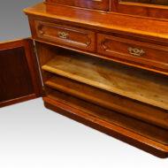 Victorian mahogany chiffonier bookcase