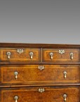 Antique William and Mary style chest on stand