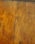 Antique walnut chest side