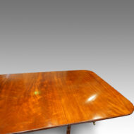 Antique mahogany table top