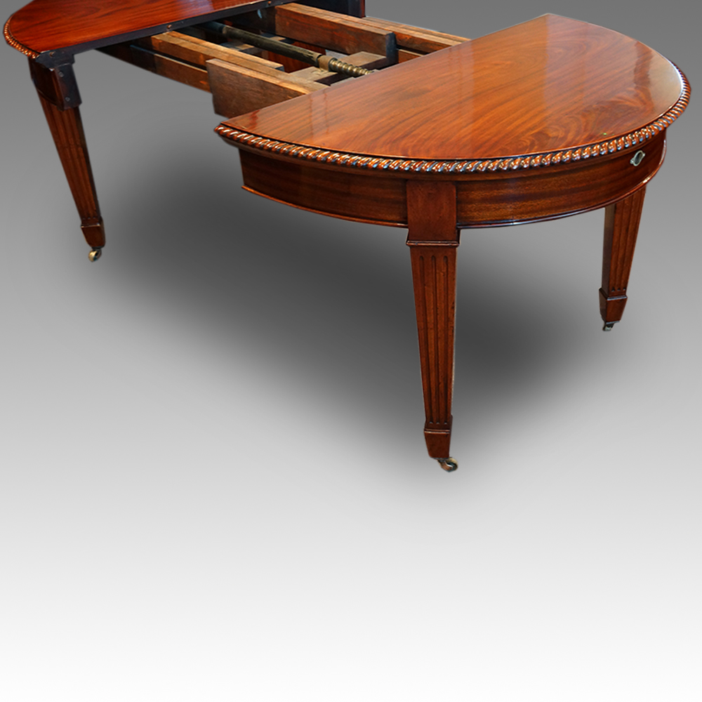 edwardian 10 seat dining table now sold hingstons