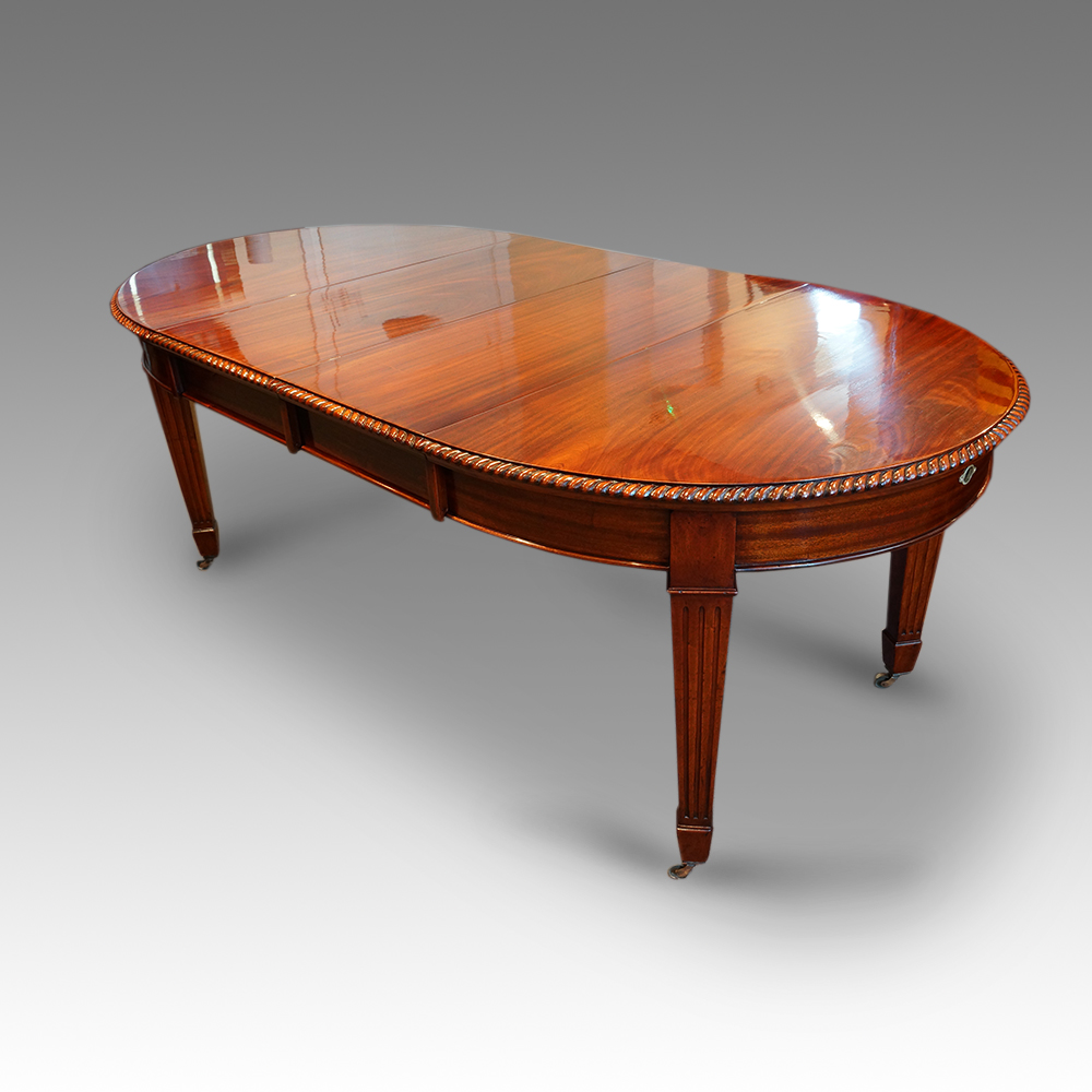 Edwardian 10 seat dining table now sold hingstons for 10 seat dining table