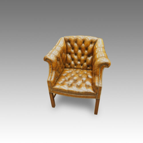 Georgian style library chair