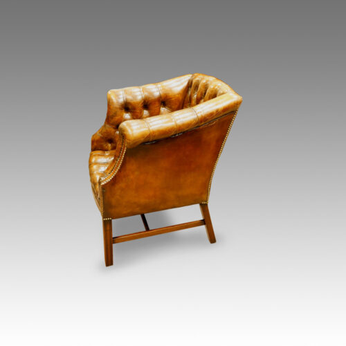 Georgian style reading chair