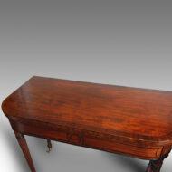 Regency mahogany card-table