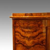 Victorian cupboard detail of top