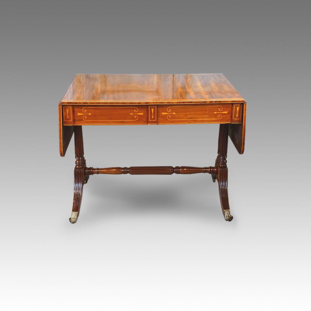 Antique sofa table - Antique Sofa Table 31