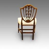 Set 10 Hepplewhite dining chairs,5