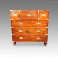 Victorian mahogany secretaire chest