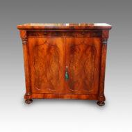 Victorian mahogany sidecabinet