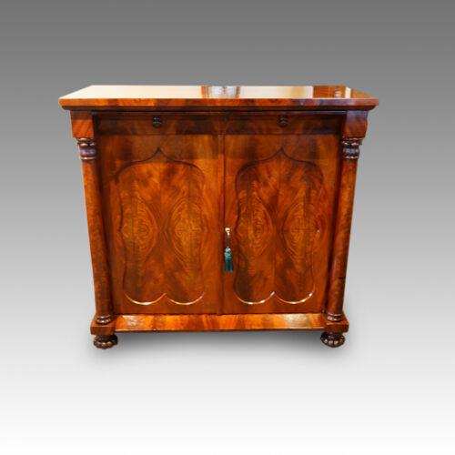 Victorian mahogany sidecabinet,1